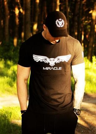 Футболка miracle angel black