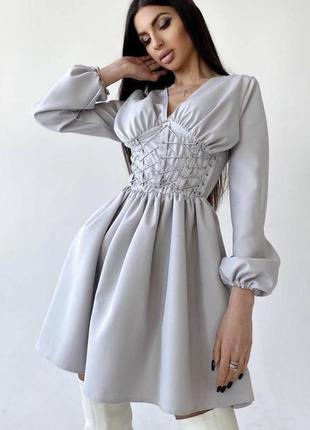 Платье корсет пышная юбка