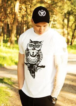 Футболка miracle owl white