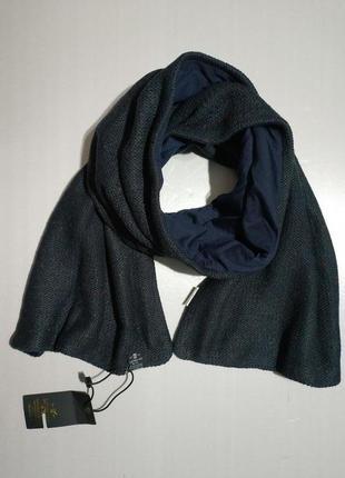 Вязаный двойной шарф унисекс итальянского бренда catbalou&co оригинал европа