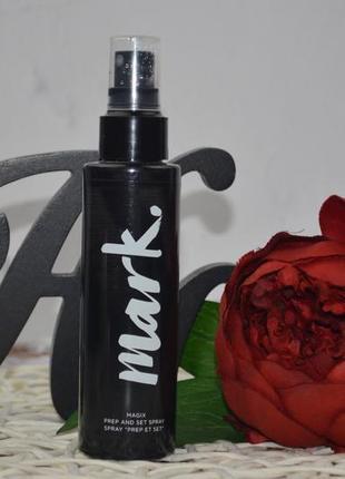 Спрей-основа и фиксатор макияжа avon mark magix prep and set spray
