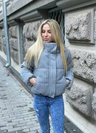 Женская стильная тёплая куртка осень весна зима tinsul 💘