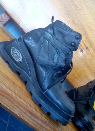 Ботинки натуральная кожа унисекс u.s.a dockers осень весна