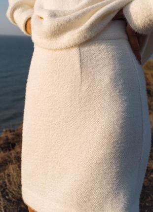 """Юбка и свитер самый уютный на свете костюмчик """"барби """"💭"""