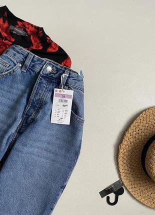 Новые обалденные джинсы мом с высокой посадкой sinsay6 фото