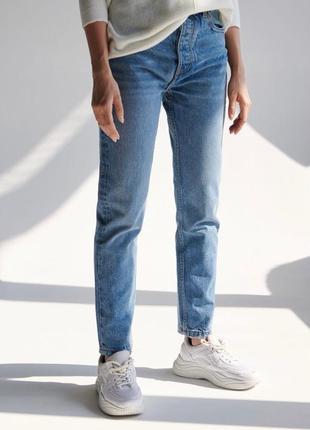 Новые обалденные джинсы мом с высокой посадкой sinsay8 фото