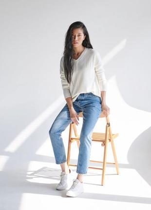 Новые обалденные джинсы мом с высокой посадкой sinsay9 фото