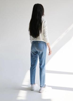 Новые обалденные джинсы мом с высокой посадкой sinsay10 фото