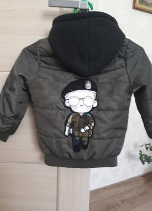 Куртка бомбер на хлопчика