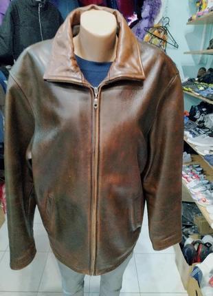 Куртка из натуральной кожи samjin.