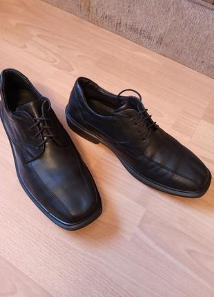 Немецкие, кожаные, мужские туфли, туфельки, лоферы, полуботинки