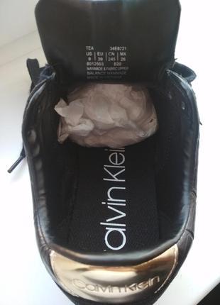 Кеды кроссовки calvin klein tea sneakers сникерсы кельвин кляйн6 фото