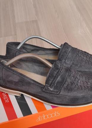 Замшевые туфли популярного британского бренда office london - 40р.