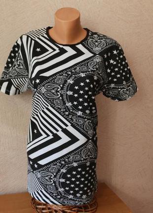 Fsbn стильная футболка ,р.l-xl, сост.новой
