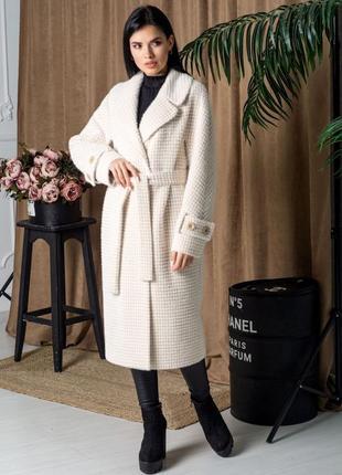 Пальто emis альпака высокое качество
