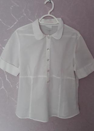 Хлопковая блуза рубашка casablanca