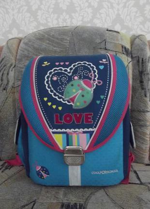 Продам школьный каркасный рюкзак с ортопедической спинкой cool for school.