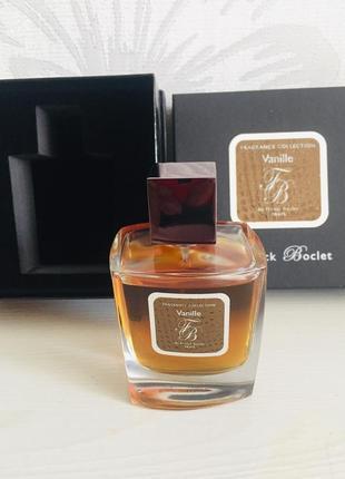 Franck boclet vanille парфюмированная вода распив  франк бокле ваниль