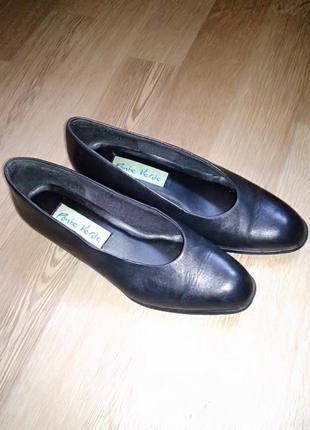 Туфли кожаные классические лодочка/// много интересного, заходите///