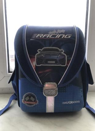 Каркасный школьный рюкзак