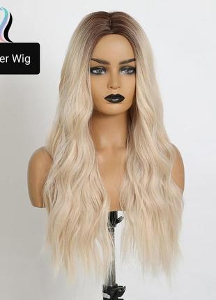 Волнистый блонд