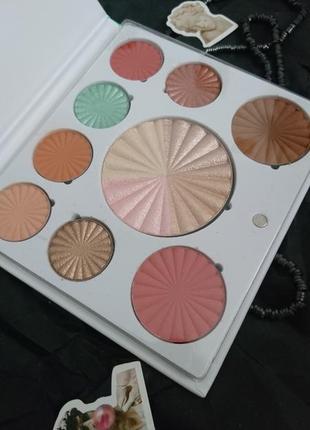 Палетка ofra mini mix face palette - good to go