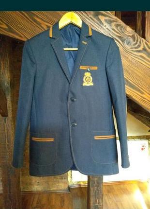 Пиджак на подростка 12-15 лет