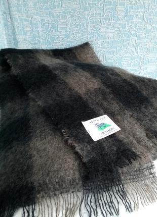 Мохеровый шарф donegal design ирландия