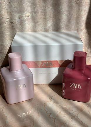 Духи zara tuberose/pink flambe /жіночі парфуми /туалетна вода /туалетная вода