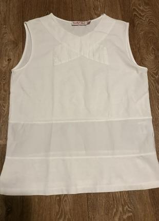 Белая футболка seebychloe
