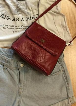 Фирменная сумка liz claiborne(new york),сумочка кросс-боди+подарок ремешок
