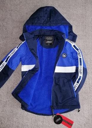 Шикарные деми-куртки р.110-122 grace