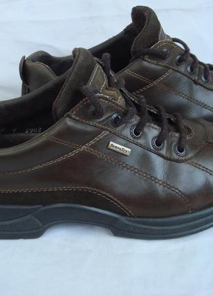Туфли кожаные rohde р.40-41(7) мальчику-подростку демисезон, мембрана
