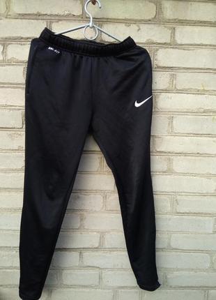 Спортивные штаны штани nike academy tech pant 651380-012 s