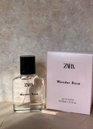 Духи zara wonder rose /жіночі парфуми /туалетна вода /парфюм