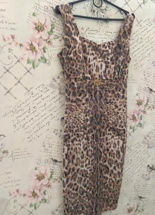 Тигровое платье по фигуре