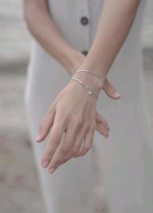Нереально красивый браслет, серебро