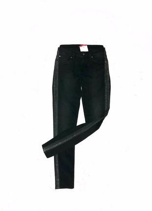 Супер стильные джинсы с шиммером m/l rockeewitter швеция 🇸🇪 оригинал