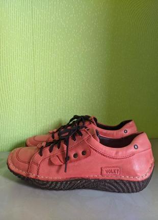 Кроссовки туфли кожаные wolky