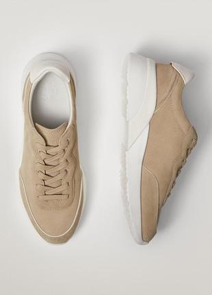 Massimo dutti  кожаные кроссовки размер 38