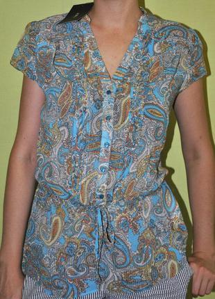 Шифоновая блузка zolla