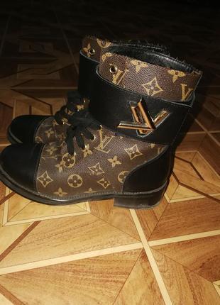 Кожаные ботинки louis vuitton