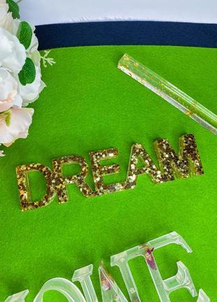 Золотой декор для дома dream