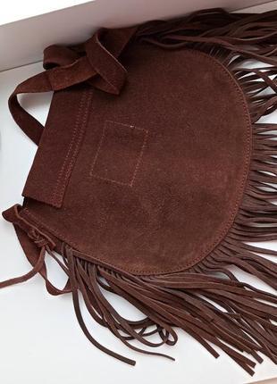 Замшева сумка2 фото