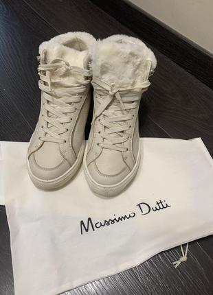 Ботинки кеды кроссовки massimo dutti