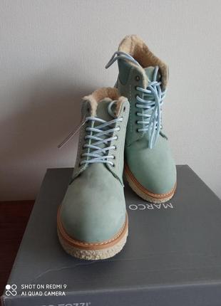 Замшевые ботинки marco tozzi 37