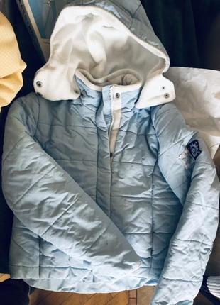 Куртка лыжная зимняя на девочку