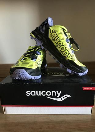 Легкие кроссовки saucony (саукони) для бега