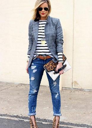 Cупер скидки!!! джинсы скинни узкие рваные потертые синие skinny roxy-27р