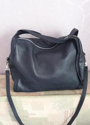 Итальянская кожаная сумка borse in pelle